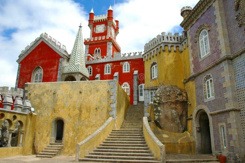 城堡方式 免版税库存图片