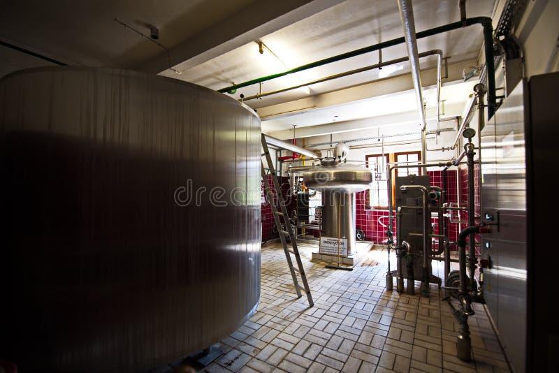 城堡施塔尔肯贝尔格-老啤酒厂 免版税库存照片