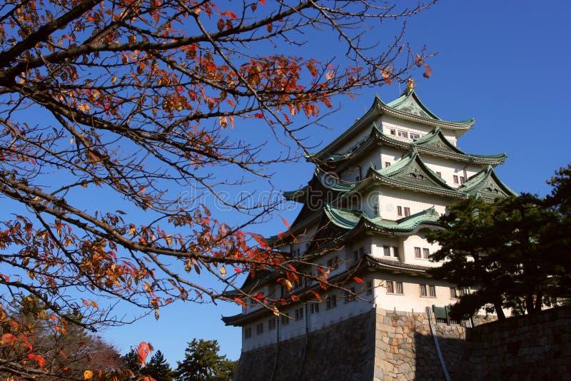 城堡日本名古屋 免版税库存照片