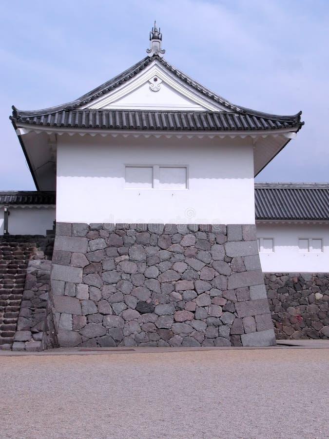 城堡日语 图库摄影