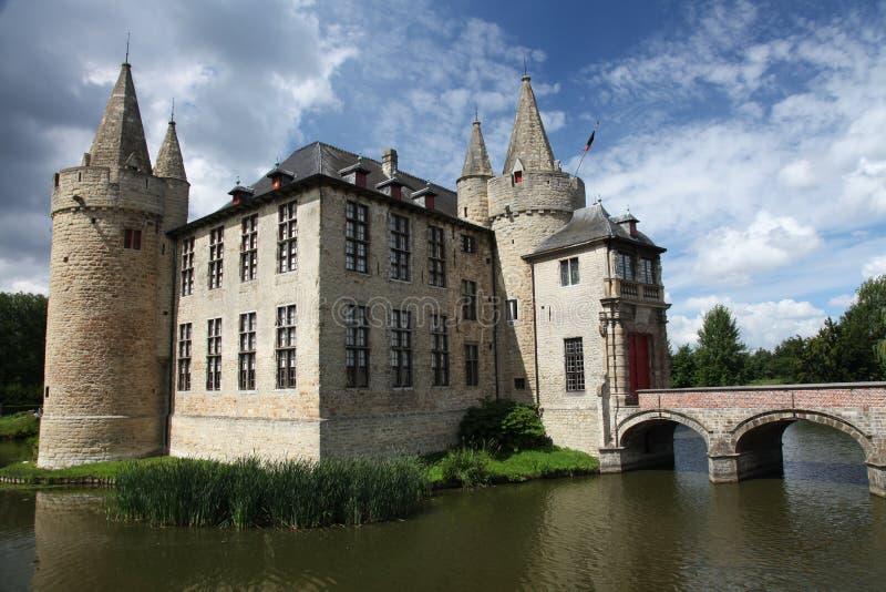 城堡桥梁 库存照片