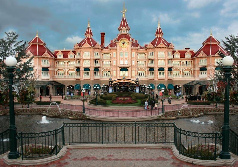 城堡欢迎 库存照片