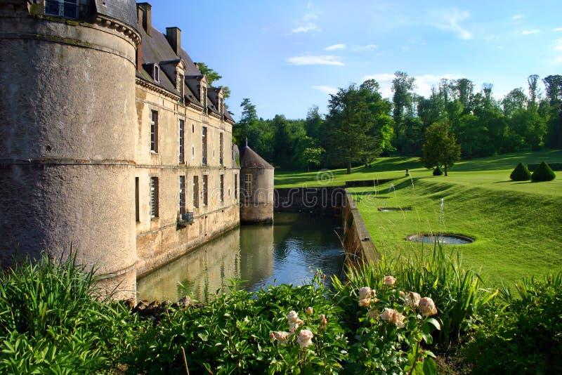 城堡法国 免版税图库摄影