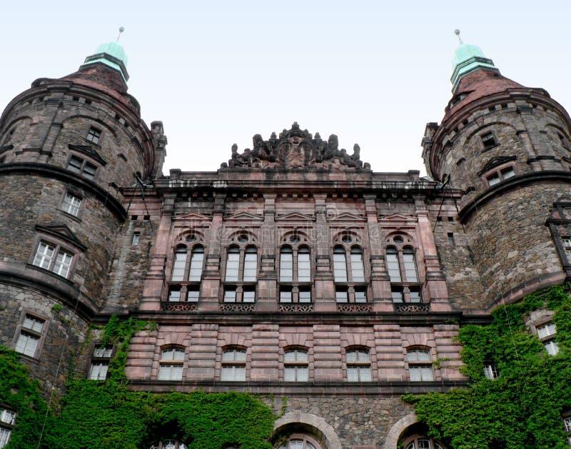 城堡波兰 库存照片