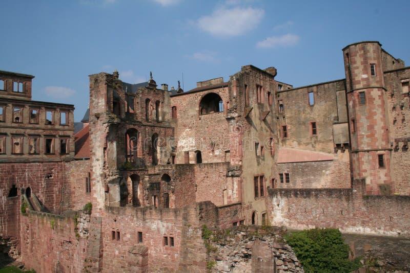 城堡海得尔堡 免版税图库摄影