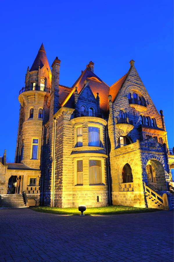 城堡照明设备 库存照片