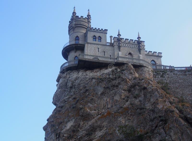 城堡燕子` s巢,克里米亚 免版税库存图片