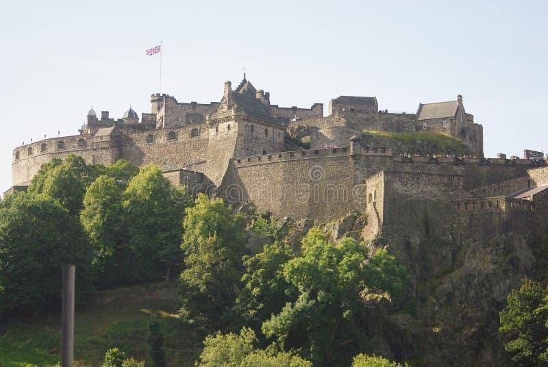 城堡爱丁堡 库存图片
