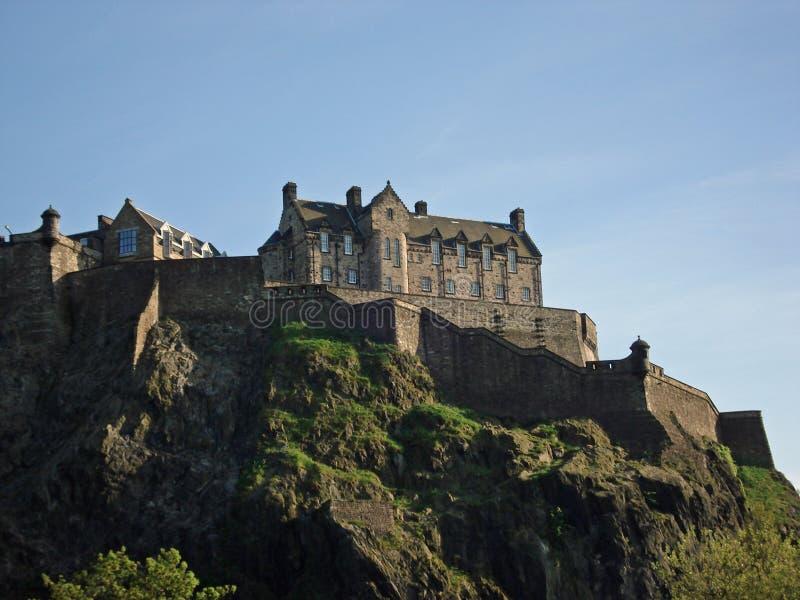 城堡爱丁堡 免版税库存图片