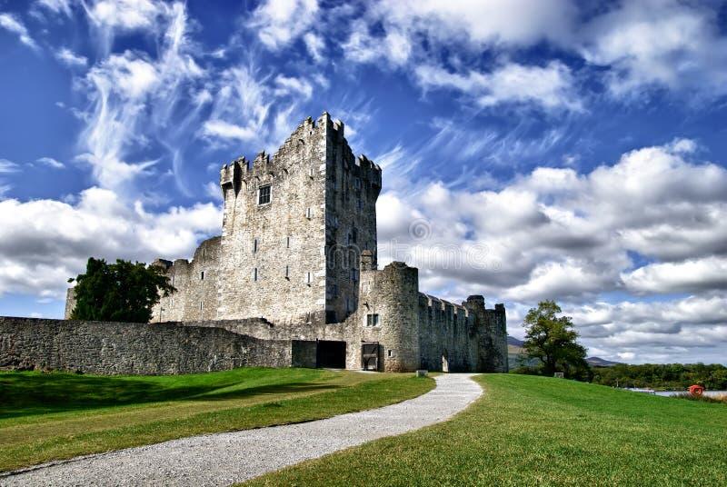 城堡爱尔兰killarney罗斯 库存图片