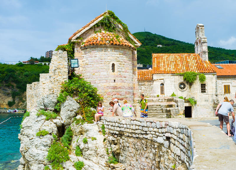 城堡的岩石 免版税图库摄影