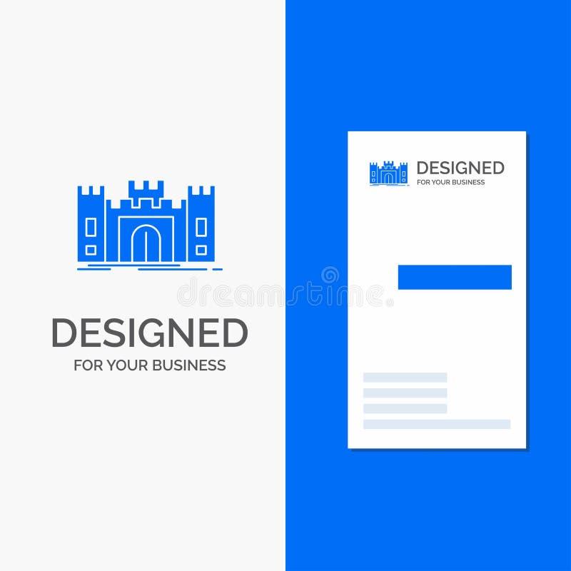 城堡的,防御,堡垒,堡垒,地标企业商标 r 皇族释放例证