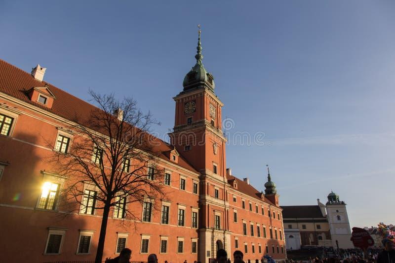 城堡皇家华沙 免版税库存照片