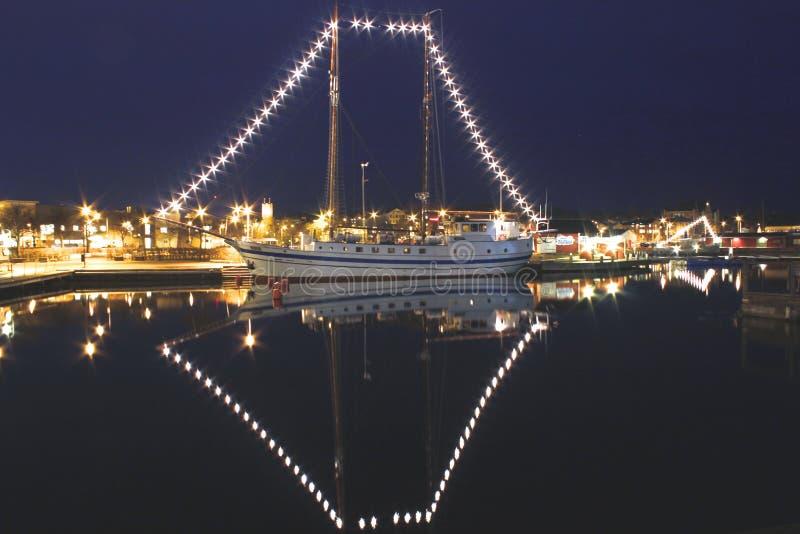 城堡皇家斯德哥尔摩 库存照片
