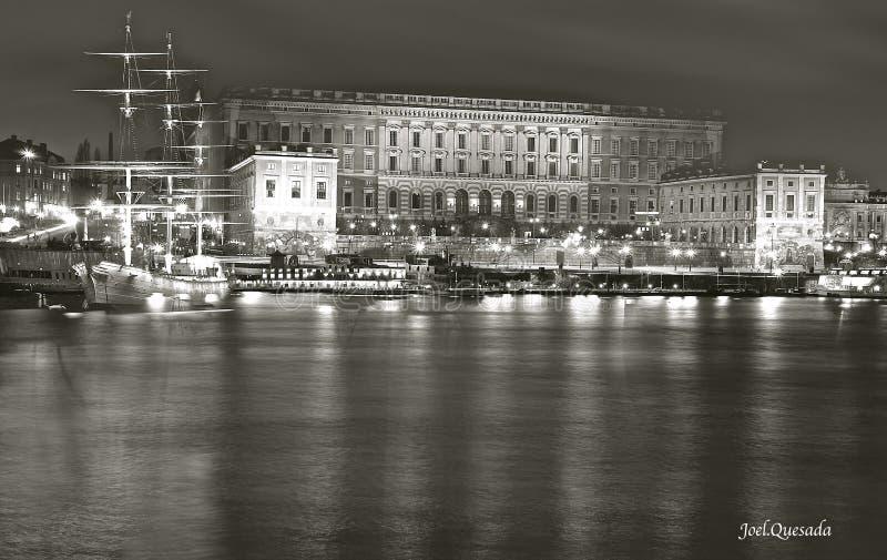 城堡皇家斯德哥尔摩 库存图片