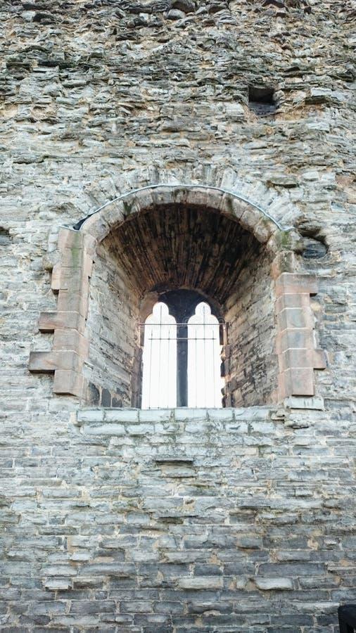 城堡窗口 库存图片