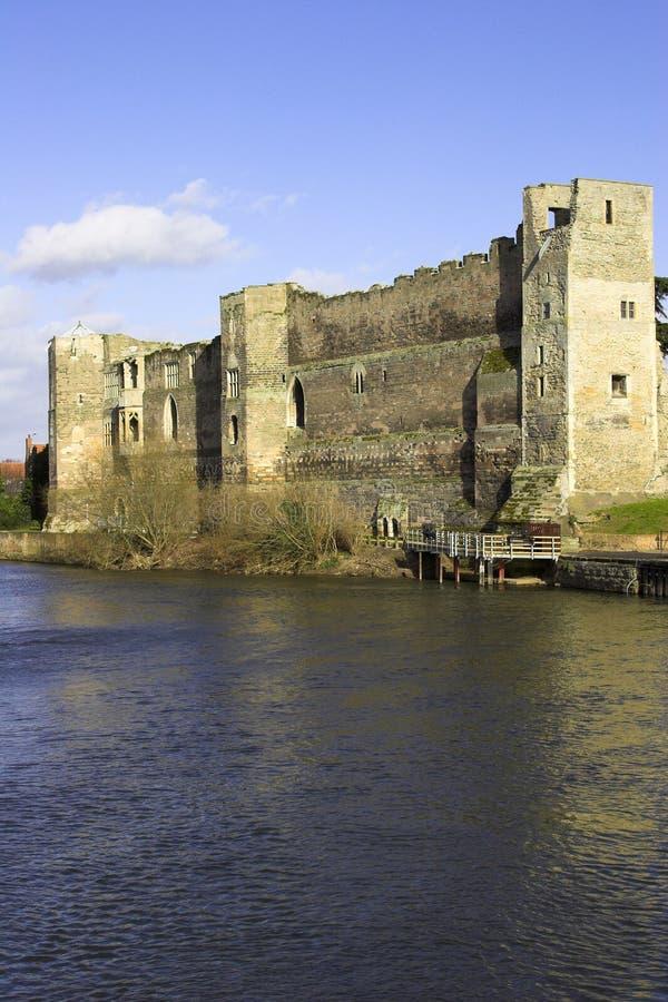 城堡纽瓦克nottinghamshire 库存图片