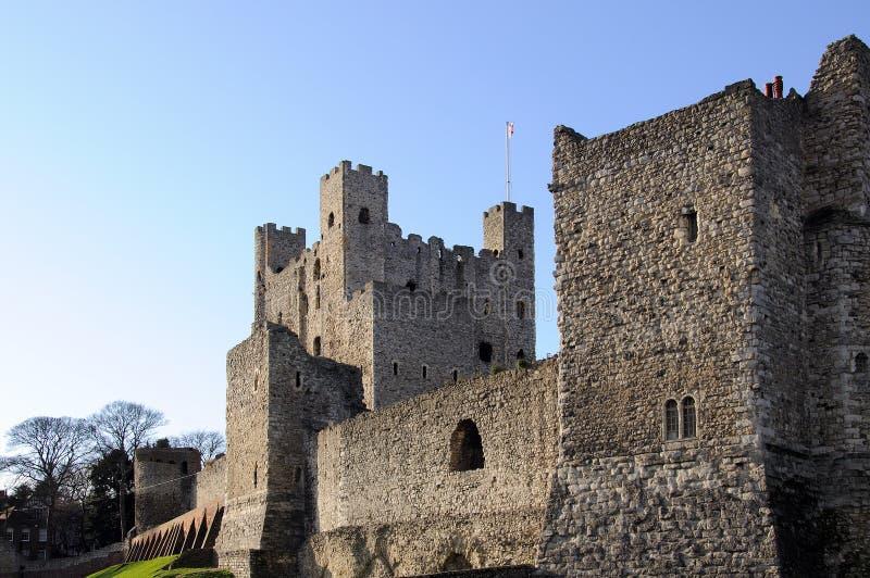 城堡罗切斯特 免版税图库摄影