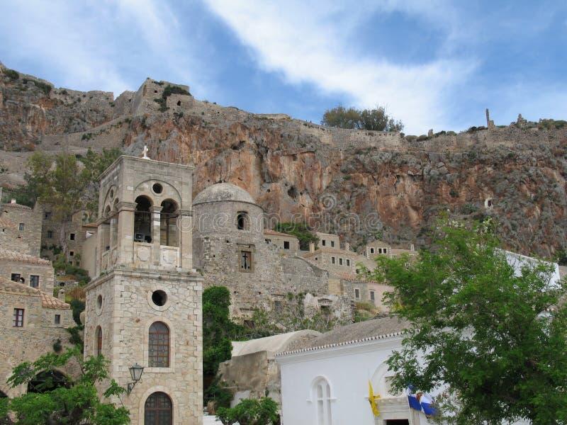 城堡老城镇 免版税库存照片