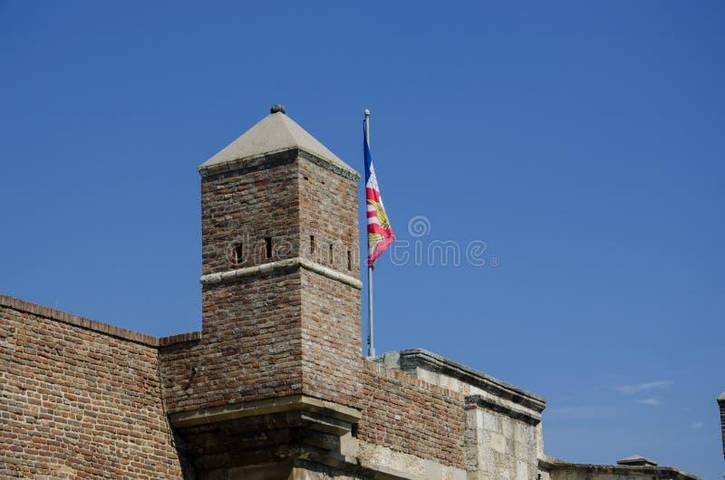 城堡老塔 库存照片
