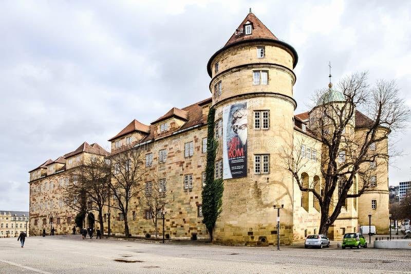 城堡老斯图加特 免版税库存图片