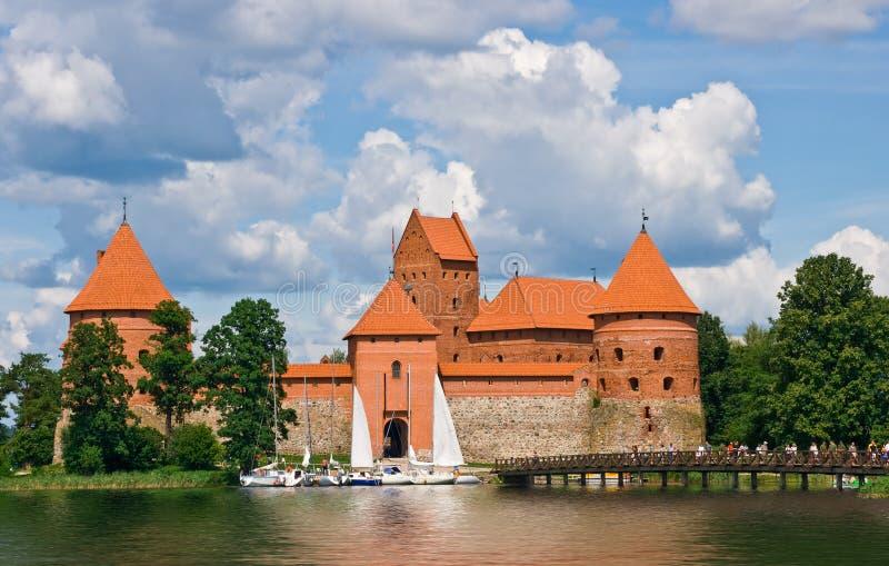 城堡老视图 库存图片
