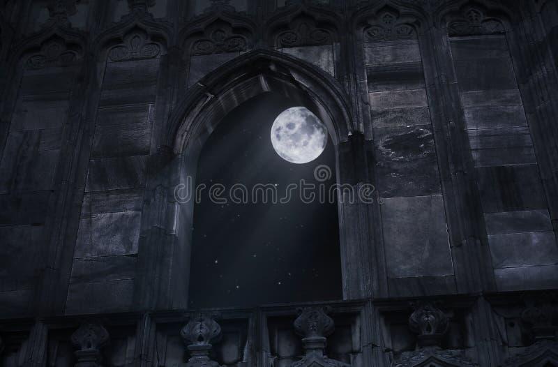 城堡老视窗 库存照片