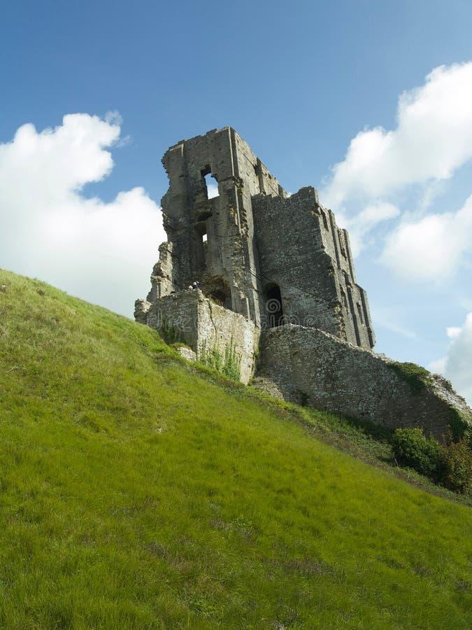城堡耸立 免版税库存照片