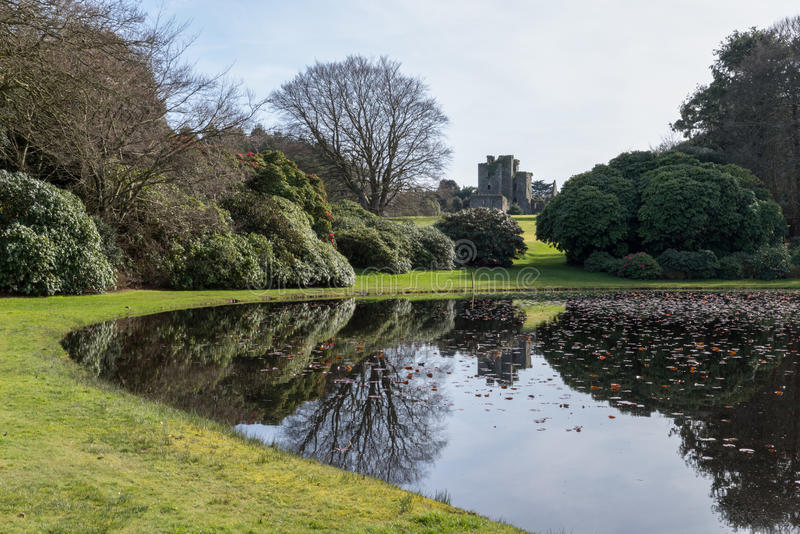 城堡肯尼迪,南西部苏格兰 库存图片