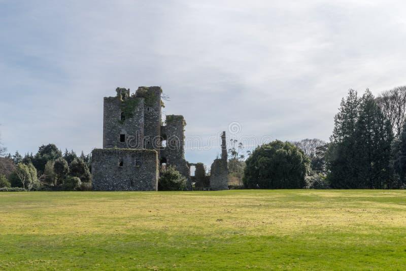 城堡肯尼迪,南西部苏格兰 库存照片