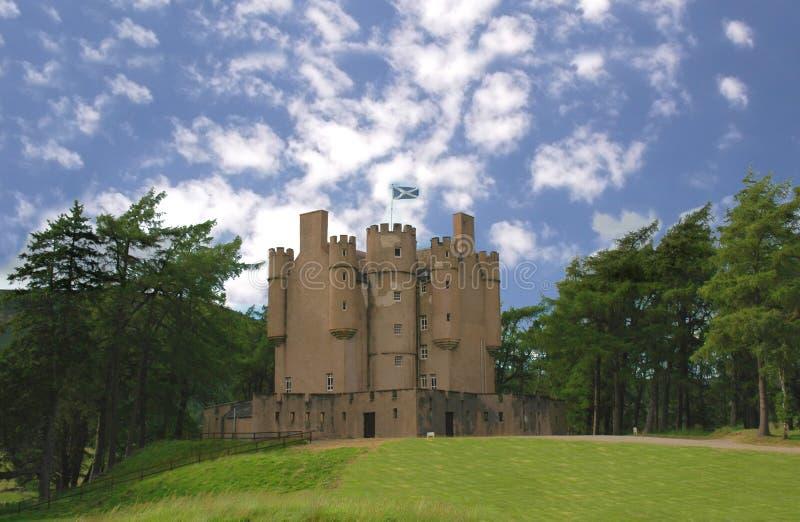 城堡苏格兰人 免版税库存图片