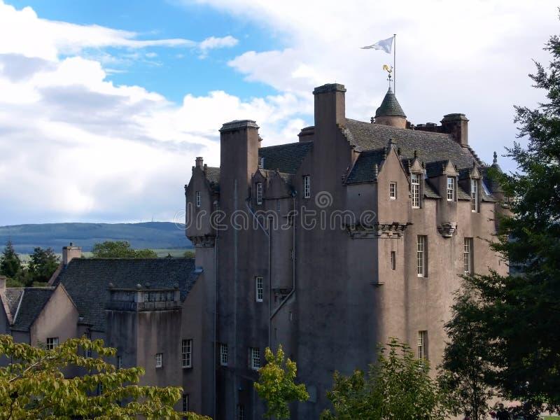 城堡苏格兰人 库存照片