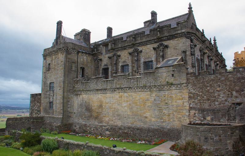 城堡苏格兰stirling 免版税库存照片