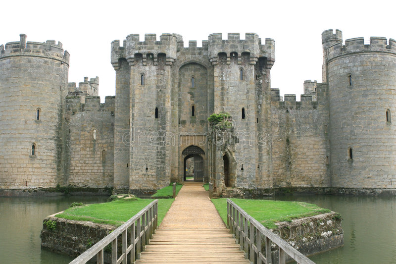 城堡英国英语 免版税库存照片