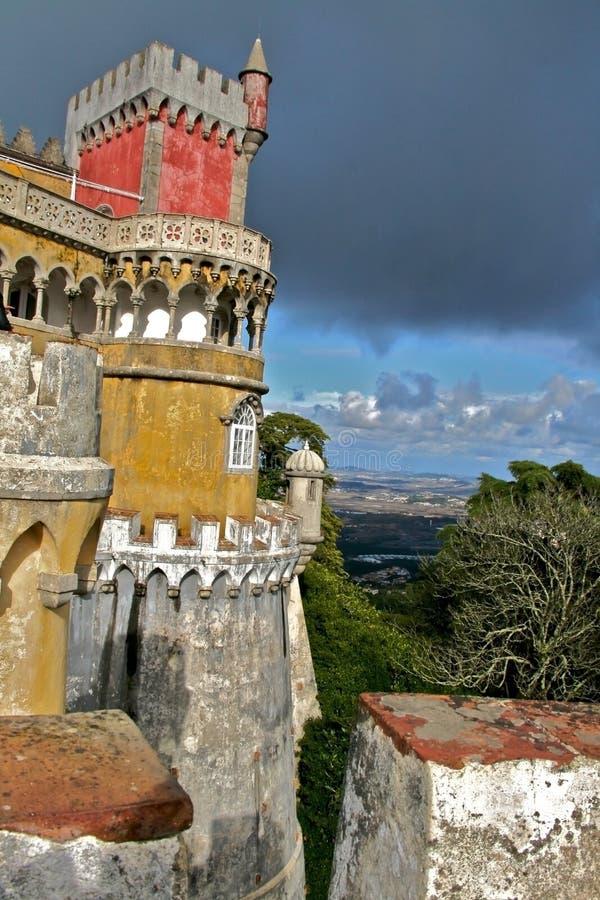 城堡葡萄牙 图库摄影