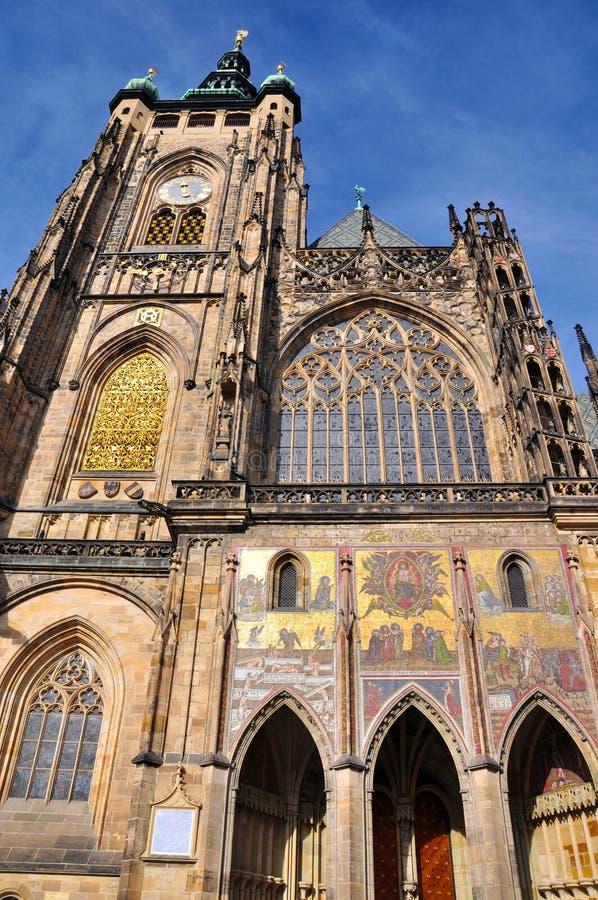 城堡详细资料布拉格praha 免版税库存图片