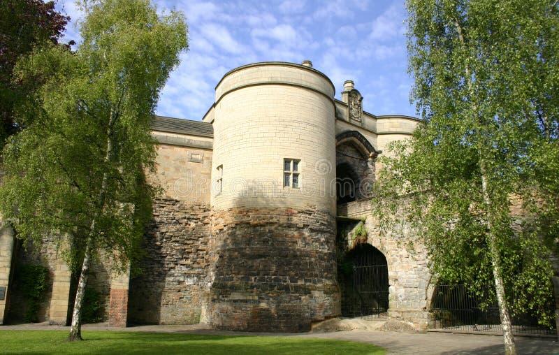 城堡诺丁汉 免版税库存图片