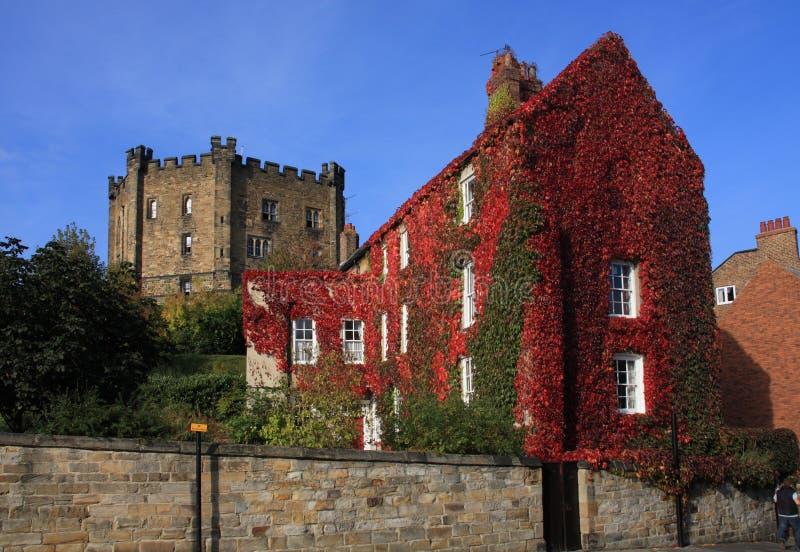城堡达翰姆 免版税图库摄影