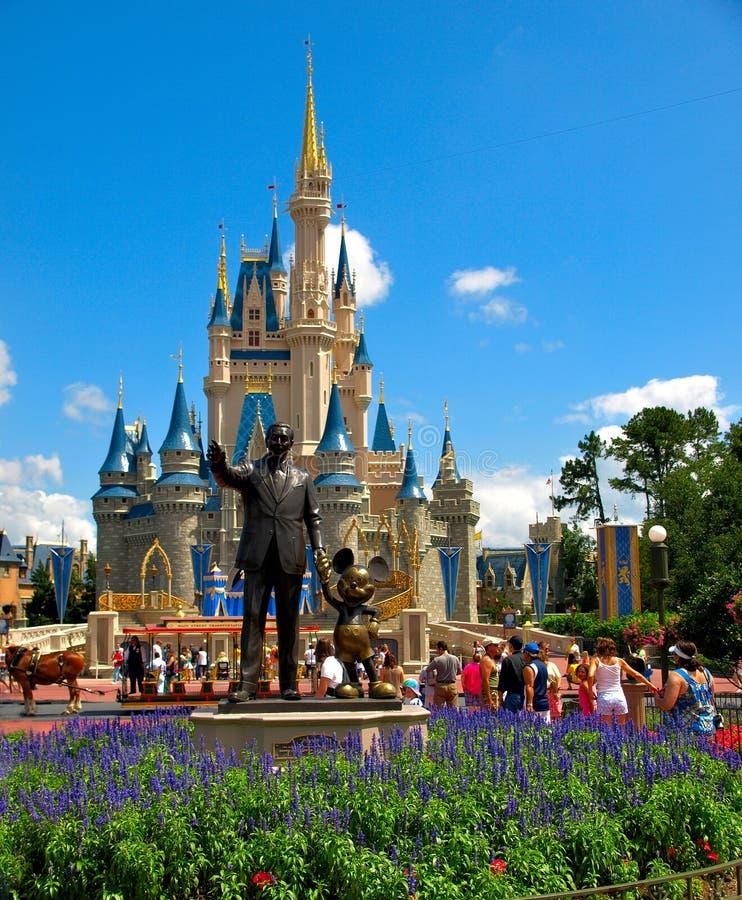 城堡迪斯尼walt世界 免版税库存照片