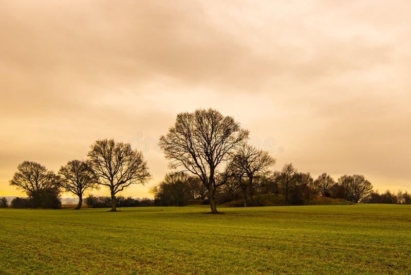 城堡通行费看法在肯特,英国 图库摄影