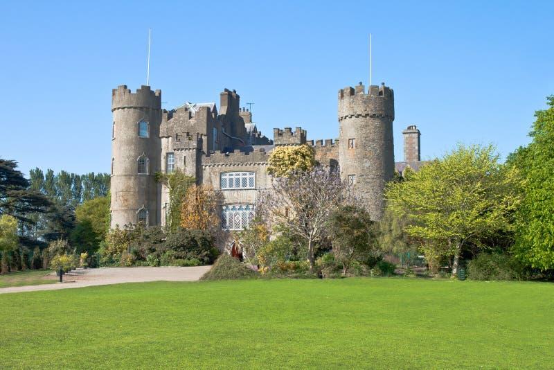 城堡都伯林爱尔兰malahide 免版税库存图片
