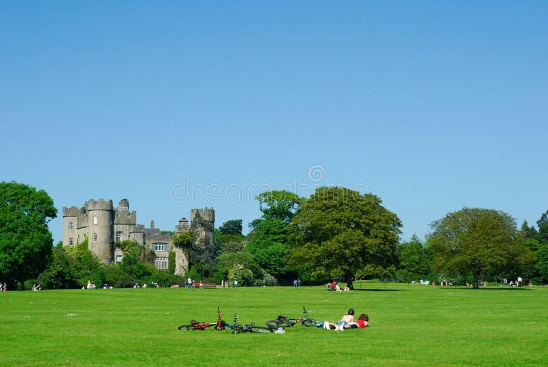 城堡都伯林爱尔兰malahide 免版税库存照片