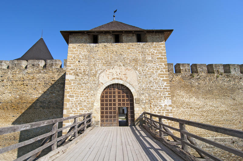 城堡项 免版税库存照片