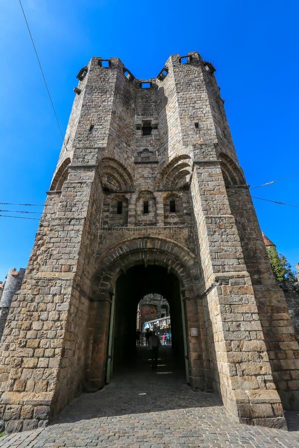 城堡绅士,比利时 免版税库存照片