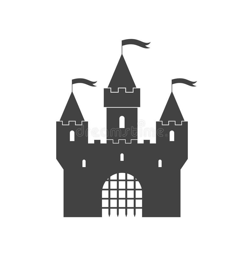城堡 向量例证