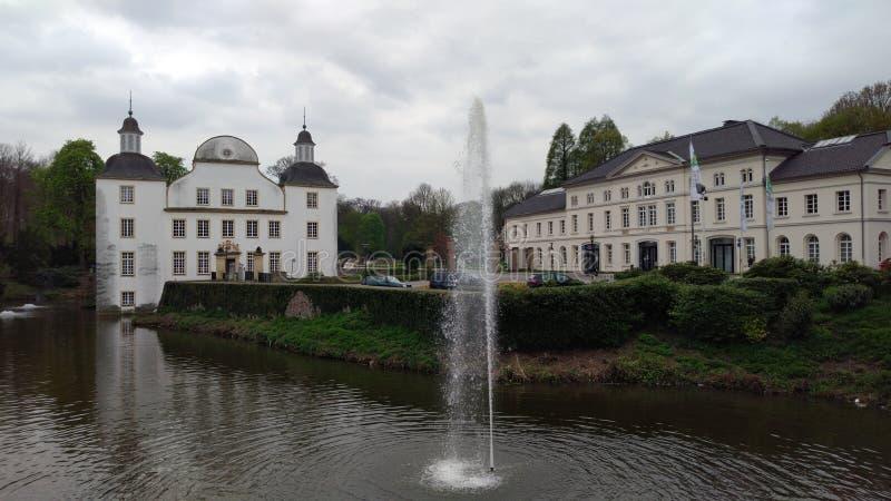 城堡Borbeck 免版税库存照片