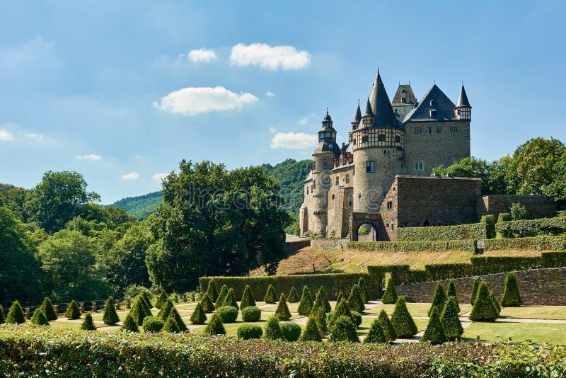 城堡Buerresheim 库存照片