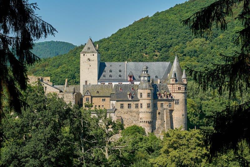 城堡Buerresheim 库存图片