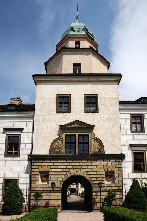 城堡castolovice捷克共和国 免版税库存图片