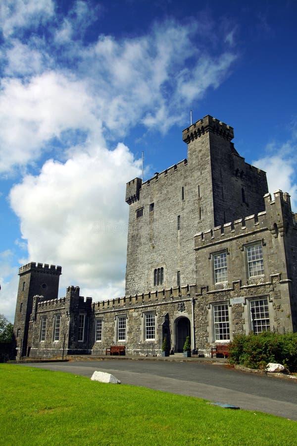 城堡clare co爱尔兰knappogue 库存图片